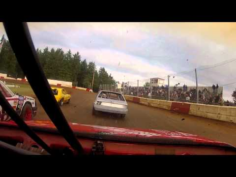 4 Cylinder racing at River City Speedway #2 6/2/12 (#26 Heat Race)