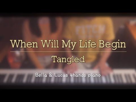 [When Will My Life Begin] - [Tangled]라푼젤 4hands piano cover