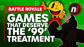 Games that Deserve to Be 99-ified (and Many that Don't But It's Fun to Pretend)