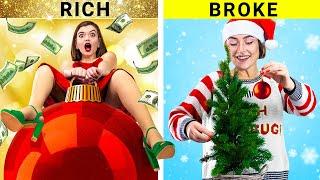 Rich Girl vs Broke Girl / Christmas Story