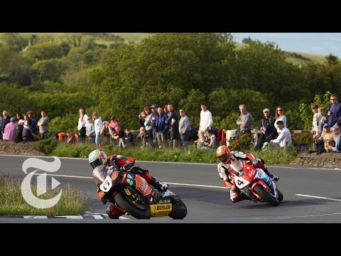 Coach Devotes His Life To Deadly 'Isle Of Man TT' Motorcycle Race | The New York Times