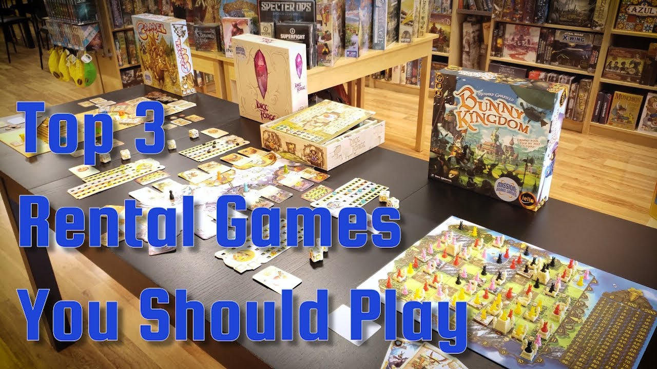 Top Board Game Rentals: Try Before You Buy! #BoardGames