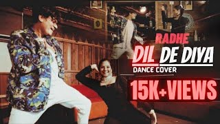 Dil De Diya - Dance Cover | Radhe | Salman Khan | Jacqueline F | Himesh R | VinDeep Choreography
