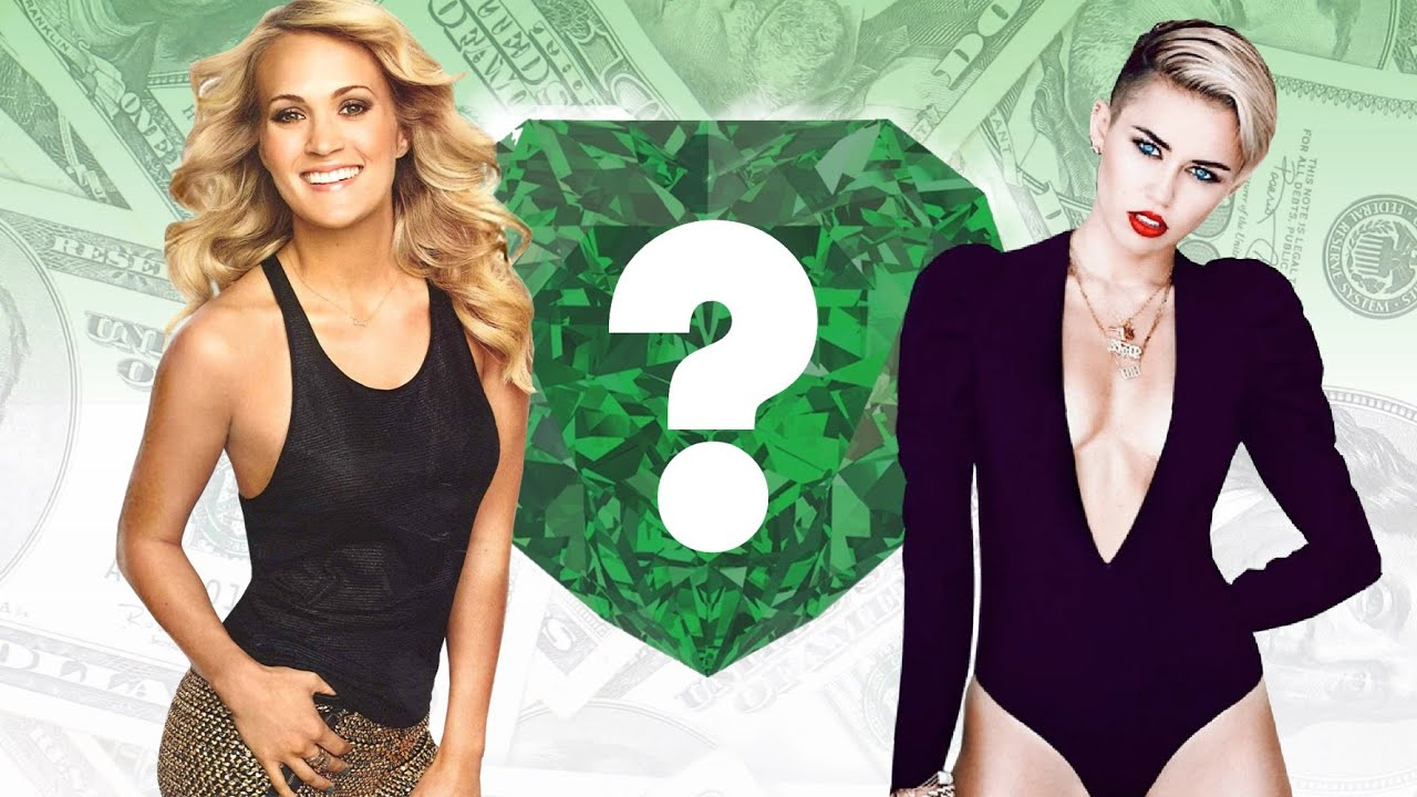 WHO'S RICHER? - Carrie Underwood or Miley Cyrus? - Net ...