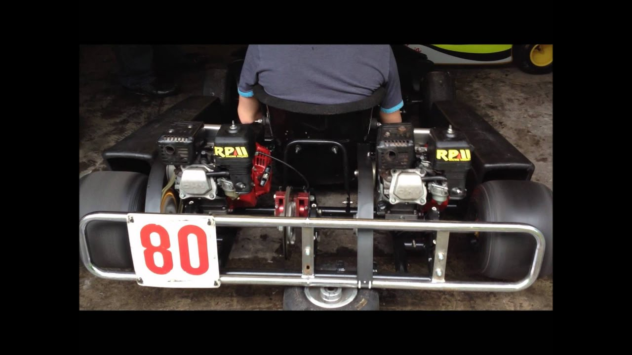 Wright Chassis - GX160 Pro Kart - Twin Engine - Stuart White Racing ...