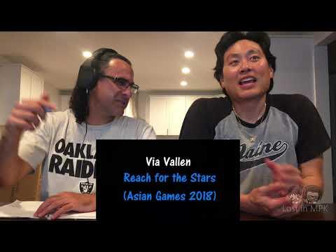 Reaction - VIA VALLEN - Meraih Bintang (Official Theme Song Asian Games 2018)