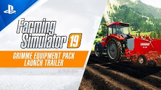 Farming Simulator 19 - GRIMME Equipment Pack Launch Trailer | PS4