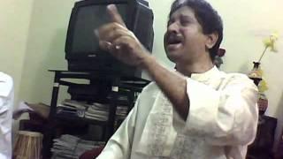 Pt Anil Kumar Saha- Teaching Raag Jaunpuri- Suhawan laagi aaj sawera