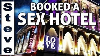 WE STAYED IN A LOVE HOTEL - Could things get Worse? ??
