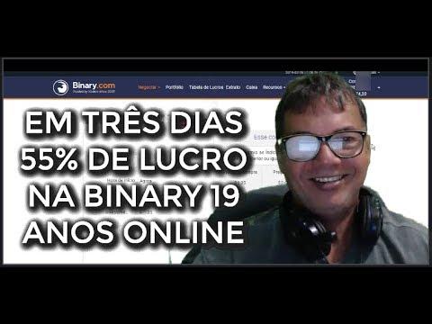55% DE LUCRO EM 3 DIAS NA BINARY OPÇÕES BINÁRIAS - BINARY STRATEGY
