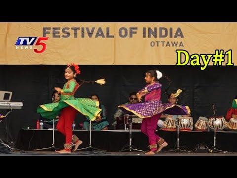 Festival Of India Celebrations at Ottawa   Day #1   TV5 News