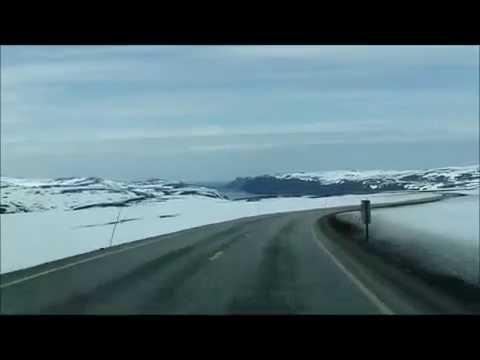 La route entre Honningsvag et le Cap Nord  etape 6 (2ème partie)