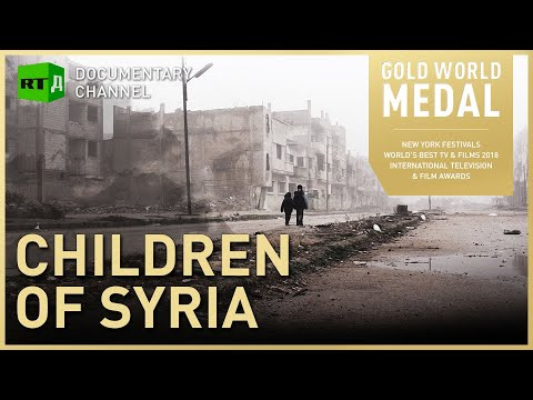 Growing up with War: Children of Syria. The tragedy of kids
