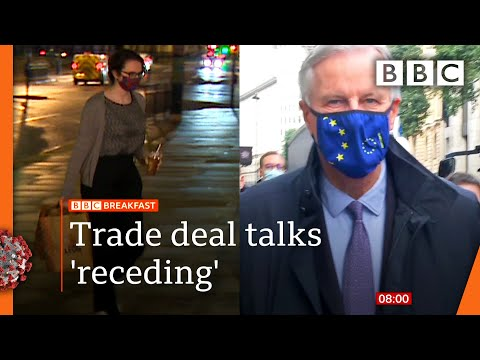 Brexit: 'Breakthrough still possible' as UK-EU trade talks resume 🔴 @BBC News live - BBC