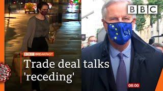 Brexit: 'Breakthrough still possible' as UK-EU trade talks resume 🔴 @BBC News live - BBC