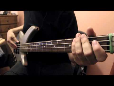 Bass Cover: Velonica By Aqua Timez