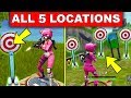 Get a score of 3 or more at different Shooting Galleries – ALL 5 LOCATION WEEK 4 CHALLENGES FORTNITE