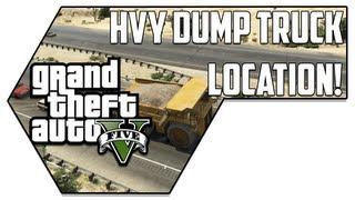 HVY Dump Truck Location - GTA V (Grand Theft Auto V)