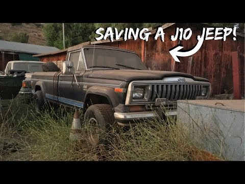 Pulling A Rare Jeep From The Weeds!