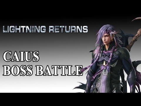 Caius Boss Battle - Lightning Returns FFXIII
