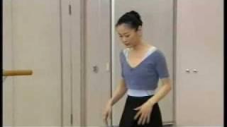 Miyako Yoshida teaches variation from Cinderella ACT1. Sep 2009.