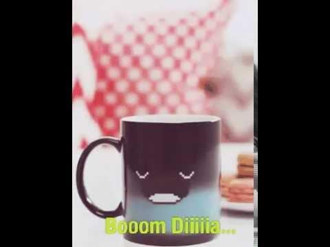 Bom dia xícara de café. .....?