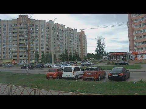 . Ярославль. Поездка по городу на автобусе