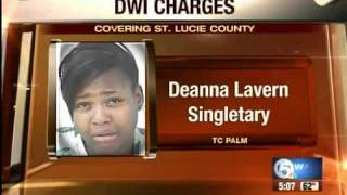 Fort Pierce woman accused of drunk driving with kids in car