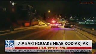 ALASKA EARTHQUAKE TRIGGERS TSUNAMI WARNING 1/23/2018