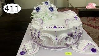 chocolate cake decorating bettercreme vanilla (411) Học Làm Bánh Kem Đơn Giản Đẹp - Tím (411)