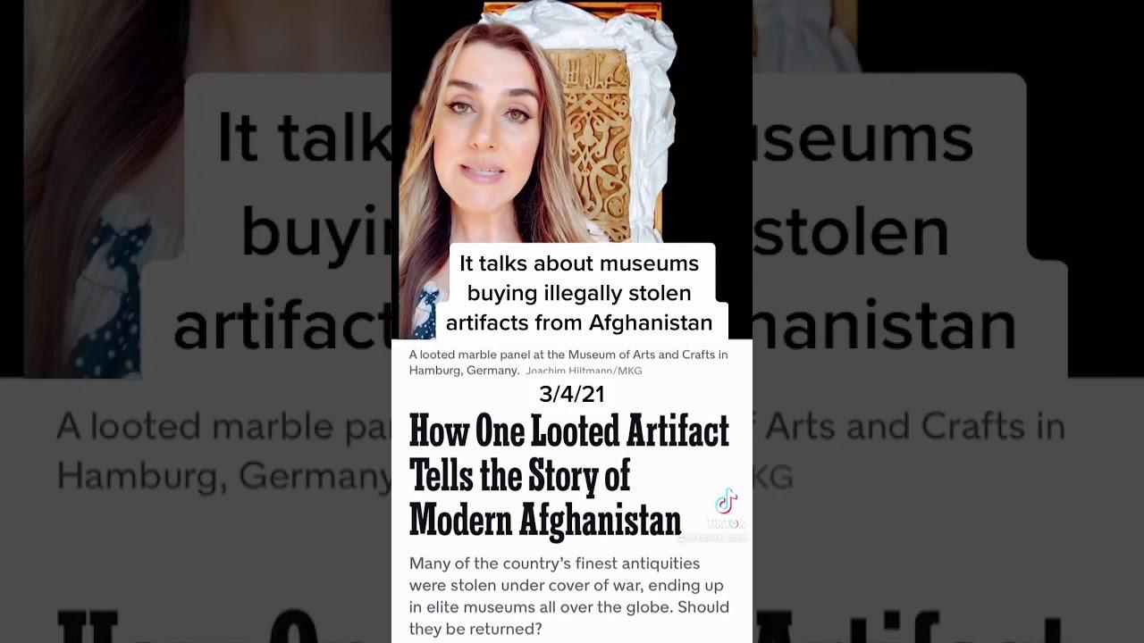 stolen afghanistan treasures: part 2