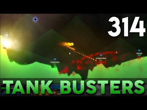 [314] Tank Busters (Let's Play ShellShock Live w/ GaLm and Friends)