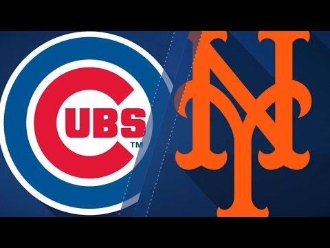 6/13/17: Cubs belt five homers to top Mets 14-3