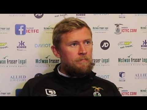 CaleyJagsTV : Richie Foran Preview v Kilmarnock : 20/10/16