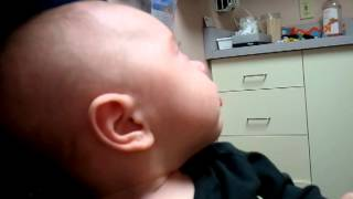 Bronchiolitis Cough, 3.5 months old