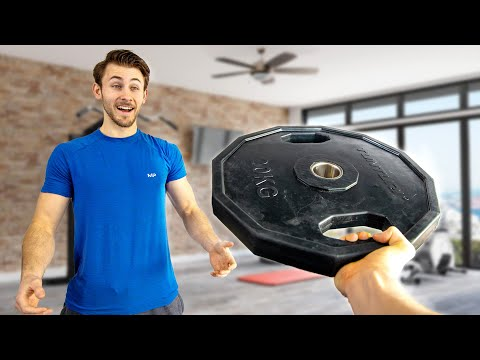 Surprising My Best Friend With $1000 DREAM Home Gym!