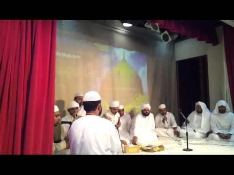 Milad-ul-nabi Programme Abu Dhabi RSC.....(ISHQUE RASOOL) by favas musthafa