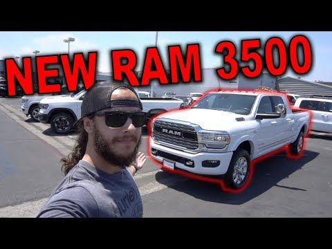 TAKING DELIVERY OF A NEW RAM LIMITED!
