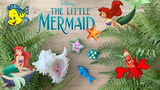 8 HOURS of Disney's Little Mermaid ♫ Claymation Lullabies for Babies (Under the Sea, Kiss the Girl)
