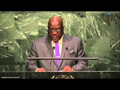 UN Speech: Prime Minister of Saint Kitts and Nevis, Timothy Harris