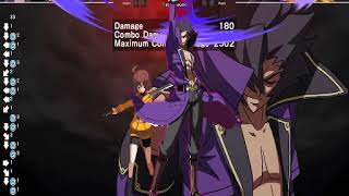 Under Night In-Birth : Gordeau combo and skiils