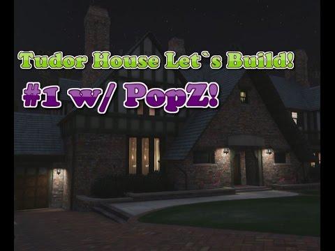 Minecraft - Let´s Build: Tudor Styled House! #1 - w/ PopZ