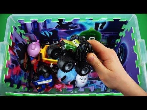 Learning with characters, colors, insects & fun! Vehicles, Peppa, Gidget, Ben & Holly video for Kids