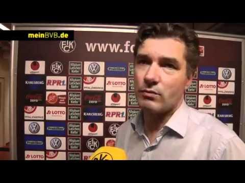1. FC Kaiserslautern - BVB: Stimmen zum Spiel mit Zorc und Kehl