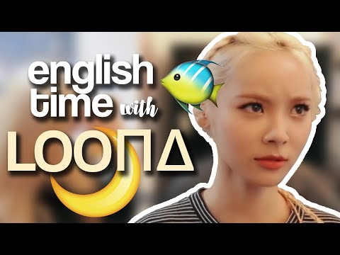 English Time with LOONA