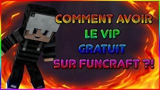 COMMENT AVOIR LE VIP GRATUITEMENT SUR FUNCRAFT V2 ?!