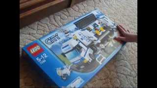 Lego City Police Mobile Police Unit Set 7288 Review
