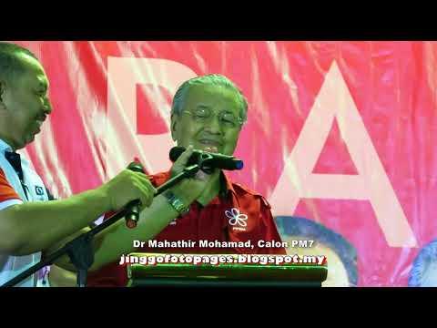 20180422 Dr Mahathir berucap @ Flats Danau Kota