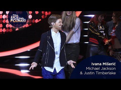 Ivana Mišerić kao Michael Jackson &...