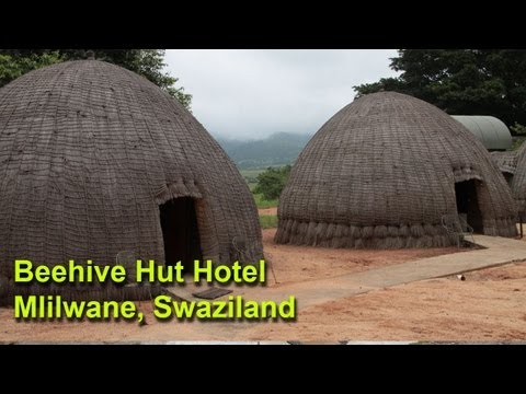 Our Next Adventure (retro) - Beehive Huts in Mlilwane Wildlife Sanctuary, Swaziland